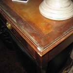 dressing table in suite,