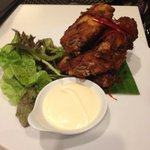 chicken wings lobby bar