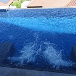 Plunge pool with Jaccuzi