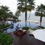 Main pool with bar & restuarant