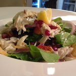 Seabass salad