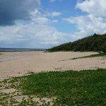 広いビーチです
