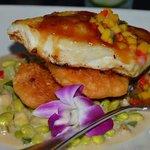 Chilian Sea Bass - very good too.