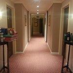 The rubbish in the corridor