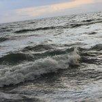 private beach - beautiful waves