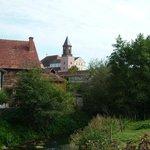 Ansicht vom Dorf
