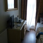 en suite single room (on the right out of picture in the shower and toilet)
