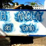 El Ancla del Cirilo - signboard