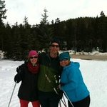 A great day in Lake Louise Cross country skiing