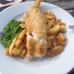 Mouth watering fish and chips