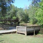 Observation deck and bridge