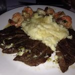 Steak & Shrimp. Yum!