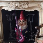 A Gnome with an in-flatible guitar, why not?
