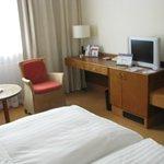 Moderne Zimmer Ausstattung inkl Minibar