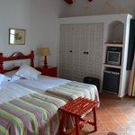 onze kamer in Finca Valbono