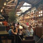 Indoor Market Santa Caterina, dining