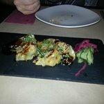 Prawn and langoustine dumplings