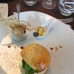 Hamburger de foie gras ....à ne pas rater !