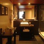 Massive bathroom with high spec bathroom fittings