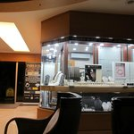 Jewellery shop at hotel