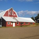 University of Fairbanks Alaska Gardens Barn