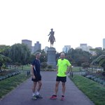 At Boston Commons - George Washington statue