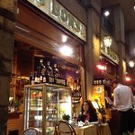 cenando en Florencia