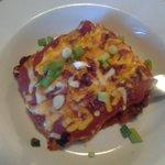 cheddar bacon'n beef lasagna