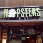 Front of Hopsters, Newton MA
