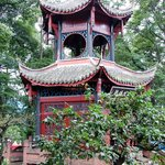 Pagoda at Wannian Temple and Monastery in Mt. Emei