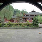 Grounds at Wannian Temple and Monastery