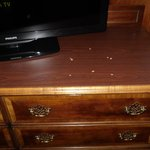 Holes in dresser...really?