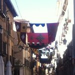 Adornada en la celebración del Mercado Cervantino en octubre