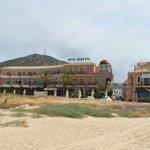 hotel Gran Sol vanaf het strand gefotografeerd