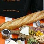 GOURMET BAG ~ Organic Chicken or Charcuterie & Cheese