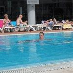 Nice pool plenty of sunbeds