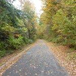 Sentier en automne