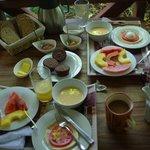 custom breakfast for us (vegetarian)