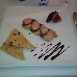 Foie gras, chutney de figues et réduction de banyuls