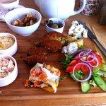 Veggie platter board