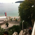 The very great beach near the apartment