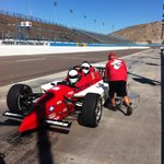 Two Seater Old Indy Replica used this experience