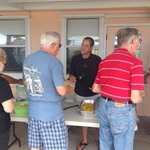 Seafood Boil! Great food!  Live music! Great fellowship.