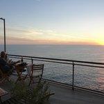 Sunset on the Community Terrace