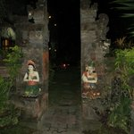The well kept gardens and styling give the place a real Balinese feel