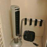 an ion fan and humidifer
