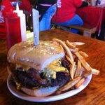 Check out this burger!