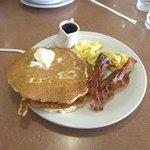 Breakfast at Dennys, Fort Bragg