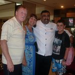 Doorman Mano with a Queendsland Family Gr8 Holiday