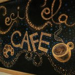 Chalk Board, Ceci Cela Cafe